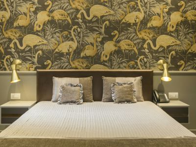 San-Carlo-Suite-Roma-king-letto