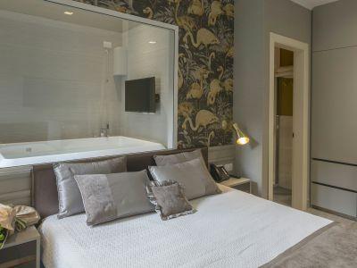 San-Carlo-Suite-Roma-kingCityView-letto