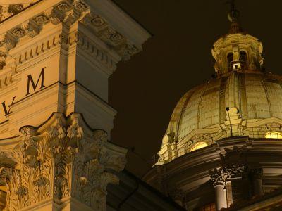 San-Carlo-Suite-Roma-cupola-notte-2