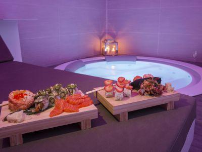 San-Carlo-Suite-Roma-centro-benessere-sushi